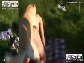 slave girl setup sex dog public - ZooTrex - Free Amateur Porn